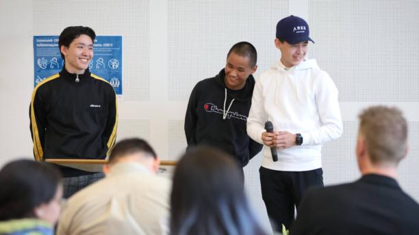 Unge iværksættere fejres til Business Awards i Nuuk