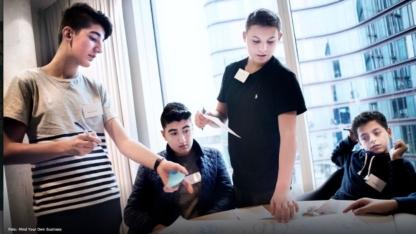 Virksomhed samarbejder med drenge fra udsatte boligområder