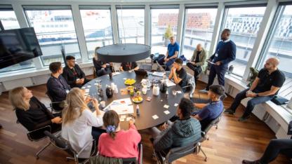 Drengenes ambitioner bliver til konkrete forretnings-strategier til Strategy Camp