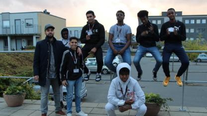 Teenagedrenge fra Korskærparken etablerer egen virksomhed