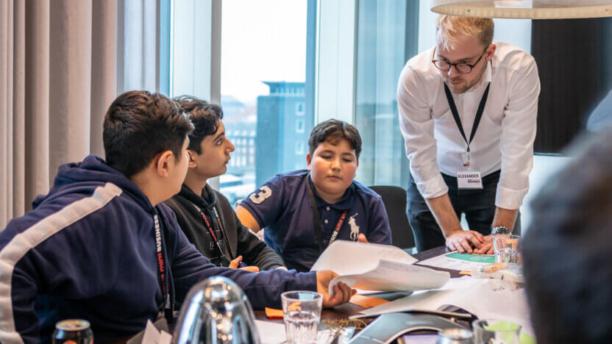 Teenagedrenge fra Greve deltager i anerkendt iværksætterforløb