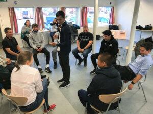 Social teambuilding NUiF